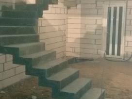 Laiptu betonavimas