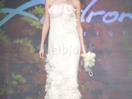 Žieminė vestuvinė suknelė (iš kokybiško veltinio)