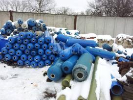 Pontonams plastikiniai balionai lieptų gamybai