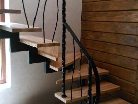 Metaliniai turėklai,laiptai,kalvystės darbai