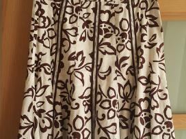 Originalių raštų vasariškas sijonas