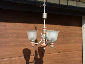 Trijų lempų pakabinamas šviestuvas