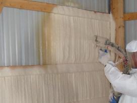 Poliuretano purškimo (proporcionavimo) technika