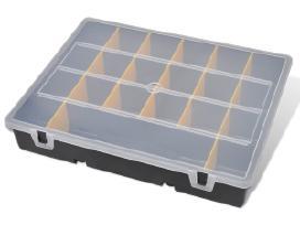 6 Įrankių Dėžutės, su Rankena, vidaxl
