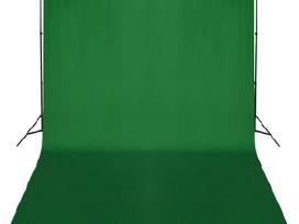 Fono Tvirtinimo Sistema su Žaliu Fonu 300 x 300 cm