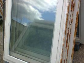 Nauji ir naudoti plastikiniai langai