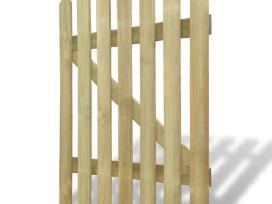 Mediniai Sodo Varteliai 100 x 120 cm, vidaxl