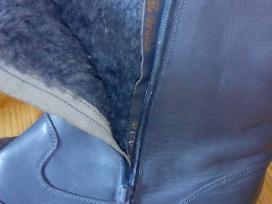 Natūralios odos vyriškus žieminius aulinius. Nauji