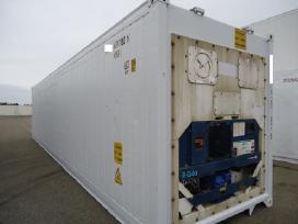 Naudoti jūriniai konteineriai sandėliavimui