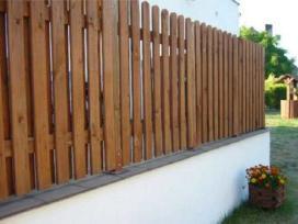 Segmentines tvoros. Medines tvoros montavimas.
