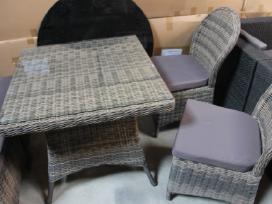 Valgomajo sendinto tipo lauko baldu komplektas .