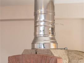 Kaminų įdėklai nuo 15eur iki 25eur su montavimu