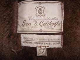Vyriškas odinis paltas ( pagaminta turkijoje)