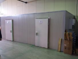 Šaldymo kamerų montavimas