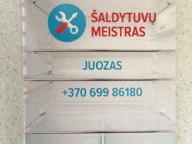 Buitinių/ pramoninių šaldytuvų/šaldiklių meistras