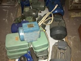 Elektros varikliai/motoreduktoriai