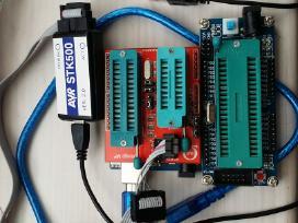 Programatoriai,programatorius,stk500,minipro,rt809
