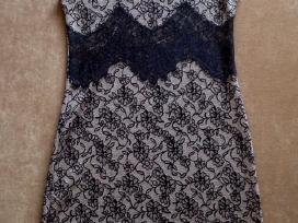 Gėlėtų raštų nėriniuota labai graži suknelė