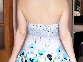 Marga plevenanti suknelė