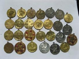Medaliai be kaladeliu po 1 eura