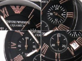 Naujas Vyriškas Armani Ar1410 Ceramica Laikrodis
