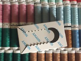 Vokiški siuvimo siūlai - Amann Seralon