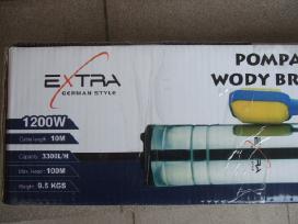 Giluminiai vandens siurbliai Extra – Super kaina