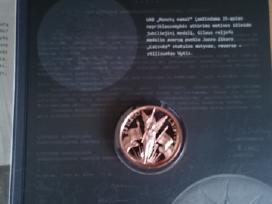 Medalis su deklu, skirtas 25 laisves metams