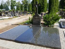 Paminklai, paminklų gamyba, kapaviečių tvarkymas