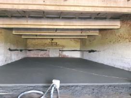 Grindu betonavimas ir sildomu grindu irengimas
