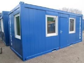 Naujas ofisinis - buitinis konteineris