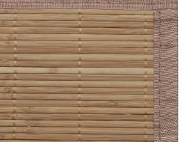 Rudas Kilimas iš Bambuko 200 x 300 cm, vidaxl