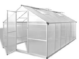 Šiltnamis iš Aliuminio su Pagrindo Rėmu 9025 m2