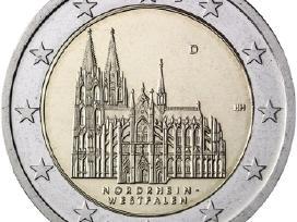 Vokietija 2 euro 2011 North-rhine A-d-f-g-j