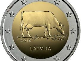 Latvija 2 euro monetos Unc