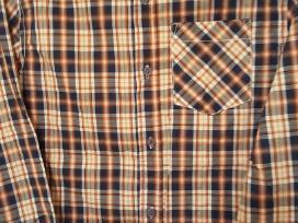 Languoti medvilniai marškiniai idealios būklės