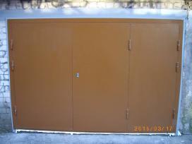 Garazo vartai, sandeliuko durys, sarvuotos durys