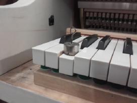 Parduodu pianiną Ryga 88.kl.3.ped.