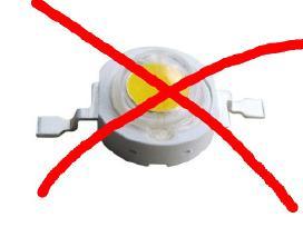 LED remontas nenaudojant kinietiškų LE