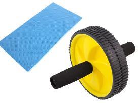 Gimnastikos ratas su kilimėliu