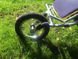 Hauck mėlynas vežimėlis