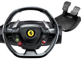 Naujas Thrustmaster Ferrari 458 Italia X