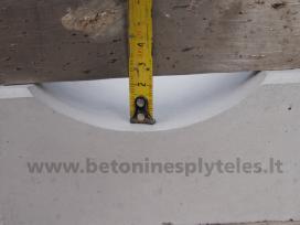 Betoniniai lietaus latakai 25,5x16cm
