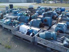 Elektros varikliaiventiliatoriaireduktoriai