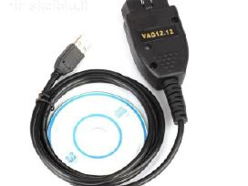 Kabeliai vcds15.7.1 12.12hex garantijos kabelis
