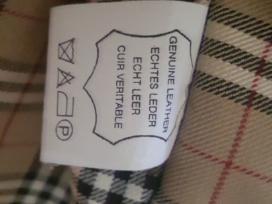 Parduodama itališka,natūralios odos odinė striukė
