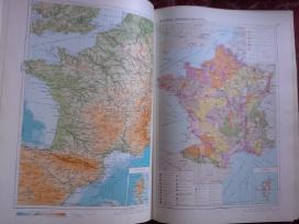 Pasaulio geografijos, Europos kelių atlasai