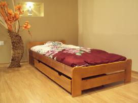 Akcija! Nauja medinė lova 160x200 tik 130eur