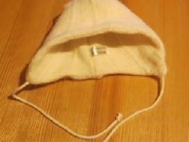 Vilnonė kepurytė 3-6 mėn. mažyliui
