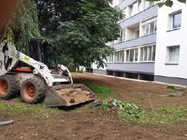 Bobcat mini krautuvo nuoma Vilniuje